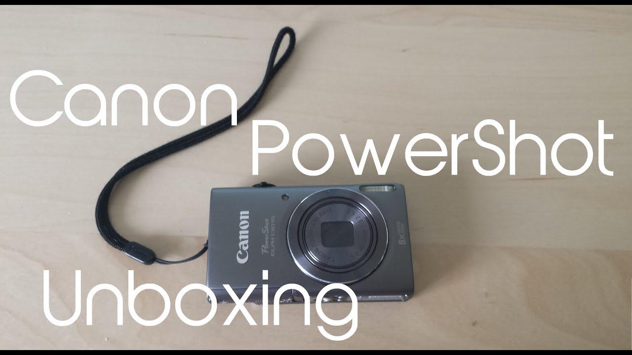 canon powershot elph 130 is manual