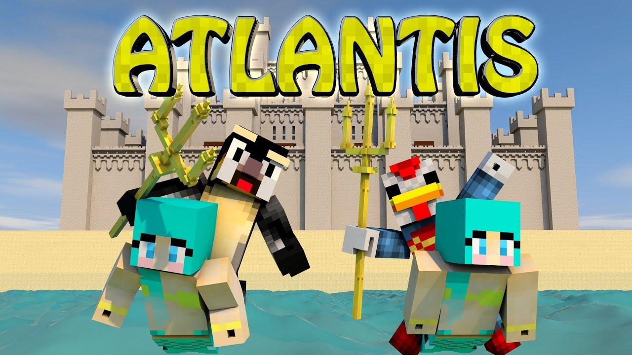 Minecraft kingdom of atlantis factions ep 3 youtube for The atlantic craft minecraft