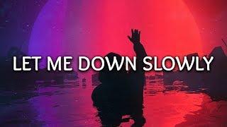 Alec Benjamin, Alessia Cara ‒ Let Me Down Slowly (Lyrics)