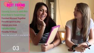 BEST FRIEND TAG with JennXPenn and Andrea Russett!