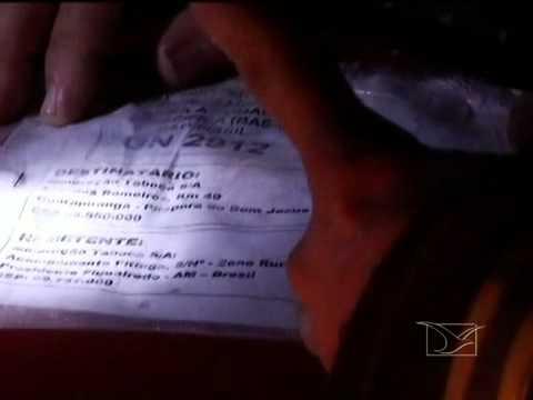 Material radioativo é encontrado na cidade de Campestre no interior do Maranhão.mp4