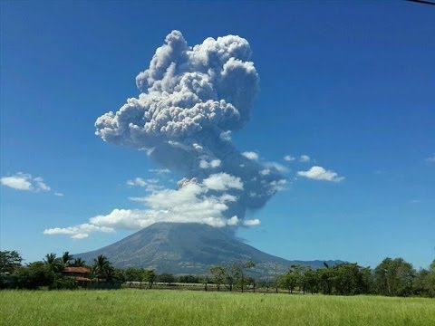 EL SALVADOR: ERUPTION ALERT CHAPARRASTIQUE VOLCANO JANUARY 22, 2014