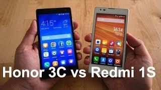 Compared: Huawei Honor 3C Versus Xiaomi Redmi 1S