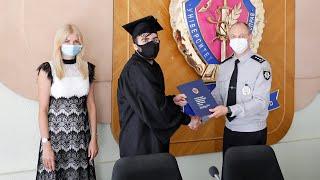 В університеті відбувся перший випуск студентів іноземного відділення