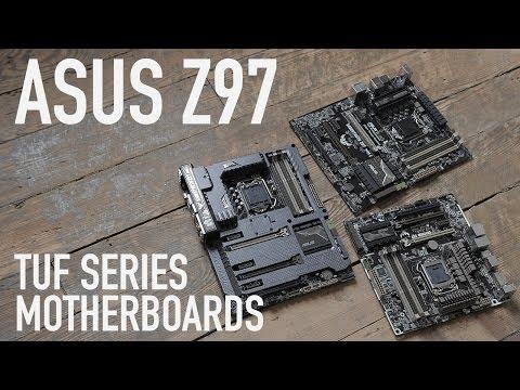 ASUS Z97 TUF Series: Sabertooth Mark 1, Mark 2, & Gryphon Motherboards
