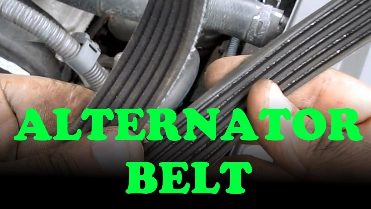 Alternator    Power Steering Belt Replacement Toyota Camry