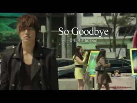 So Goodbye - Jonghyun (SHINee) [OST City Hunter] Eng sub (Lee Min Ho & Park Min Young)