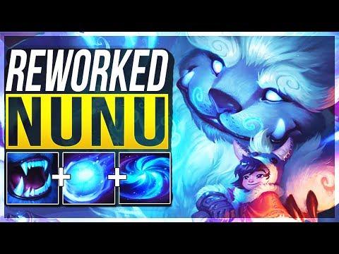 NUNU REWORK IS ACTUALLY SO STUPID! Nunu Jungle Gameplay | League of Legends