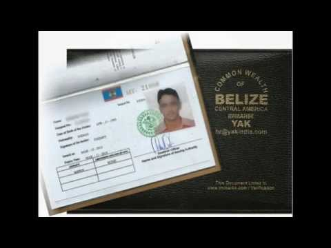 BELIZE CDC SEAMAN  DISCHARGE BOOK IN INDIA BANGLADESH NIGERIA