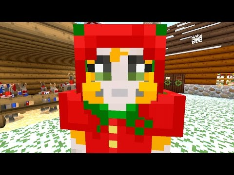 Minecraft: Xbox - Building Time - Santa's Grotto {67}
