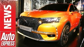 DS 7 Crossback at Geneva 2017: plush SUV takes the fight to the Germans. Auto Express.