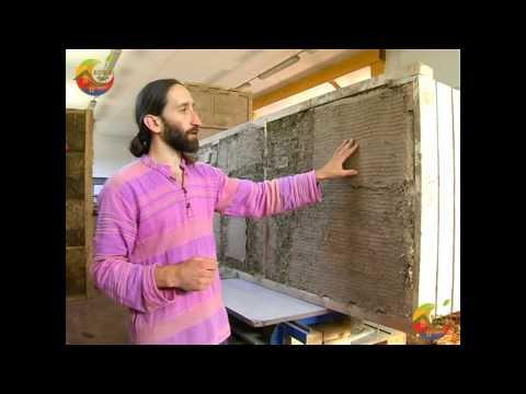 Оштукатуривание стен из соломенных блоков. Штукатурка на соломенных стеновых панелях.