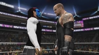 WWE 2K14 Jeff Hardy Vs The Undertaker's Streak (WWE 2K14
