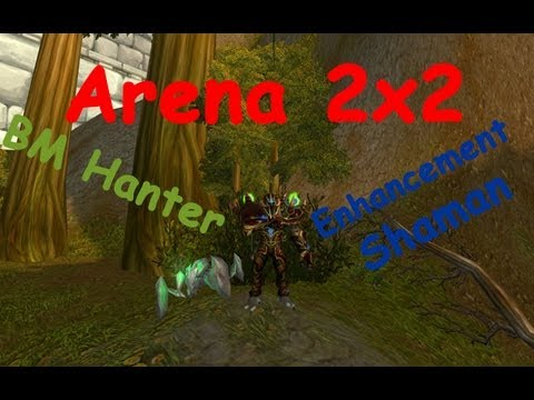 Arena 3x3 BM Hunter , Restor Druid and Enhancement shaman бесплатно в хорош