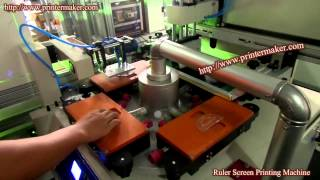 [Protractor Screen Printing Machine] Video