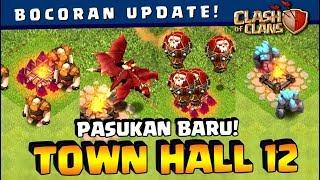 ⚠️ UPDATE LEVEL BARU Semua TROOPS TH 12! Wizardnya KEREN ABIS!! | Coc Indonesia