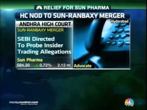 AP HC lifting ban positive for Sun-Ranbaxy merger -  Part 1