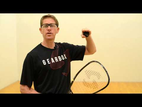 Four Types of Racquetball Lob Serves: Part 2 - The Half-Lob