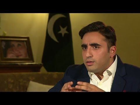 'ERADICATE TALIBAN FROM PAKISTAN' BILAWAL BHUTTO ZARDARI - BBC NEWS