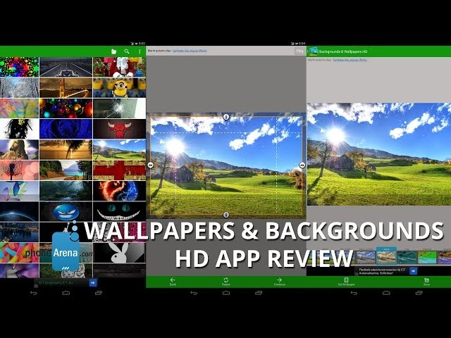Wallpapers & Backgrounds HD app Review