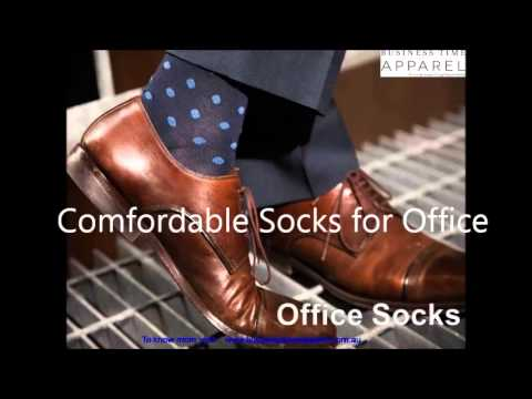 Mens Socks for Office - Business Time Apparel (www.businesstimeapparel.com.au) - YouTube