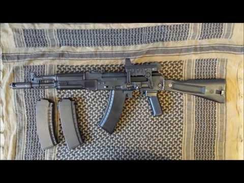 Tokyo Marui AK105 (AK102) Recoil Shock Review [Airsoft]