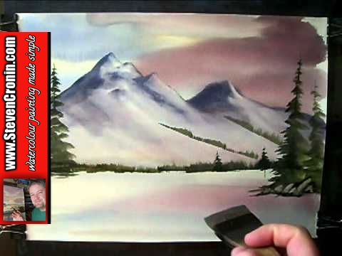 'Winter in Scotland' #2 Watercolour Painting Demo