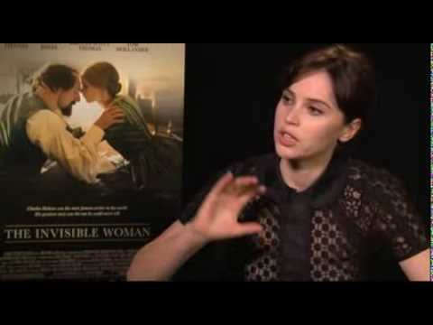 Felicity Jones on 'The Invisible Woman'