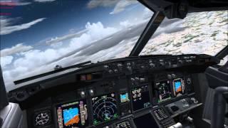 FSX PMDG Air Berlin 737-800 NGX Berlin Tegel EDDT to Palma De Mallorca LEPA view on youtube.com tube online.