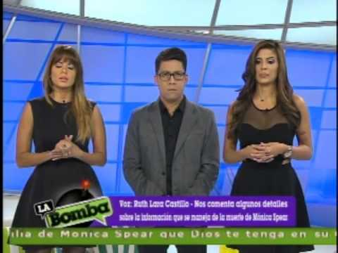 La muerte de la gran actriz venezolana Mónica Spear - La Bomba! (Televen) 7.jan.2013