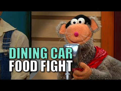 Dining Car Food Fight!