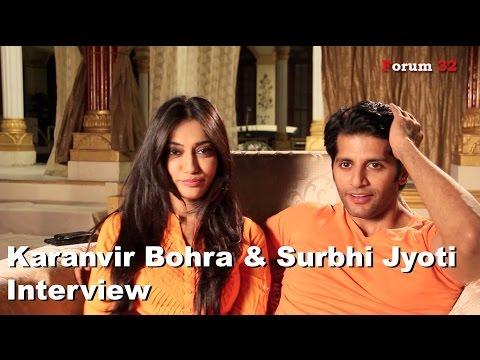 Qubool Hai   Interview   Surbhi Jyoti and Karanvir Bohra   Part 2