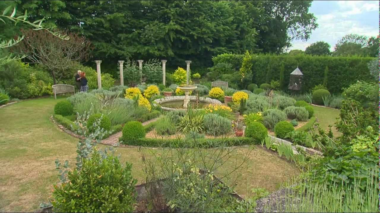 Jardin de normandie jardins de la mansoni re youtube for Jardin normandie