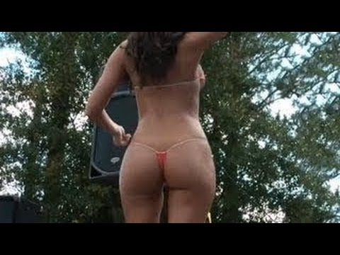 Perfect Thong Bikini Contest Girl Must See