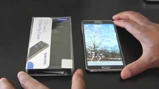 S-View Flip Cover Unboxing & Review For Samsung Galaxy Note 3