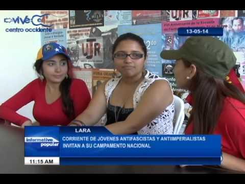 CORRIENTE DE JÓVENES ANTIFASCISTA Y ANTIIMPERIALISTAS INVITAN A SU CAMPAMENTO NACIONAL