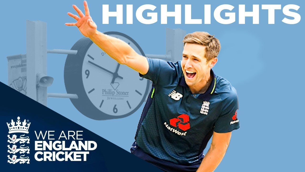 Highlights - Pakistan vs England 5th ODI - Woakes Takes 5 As England Run Rampant