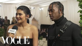 Kylie Jenner and Travis Scott on Their Parents' Night Out | Met Gala 2018 With Liza Koshy | Vogue