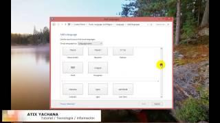 Cómo Instalar Un Paquete De Idioma De Windows 8 Y Cambiar
