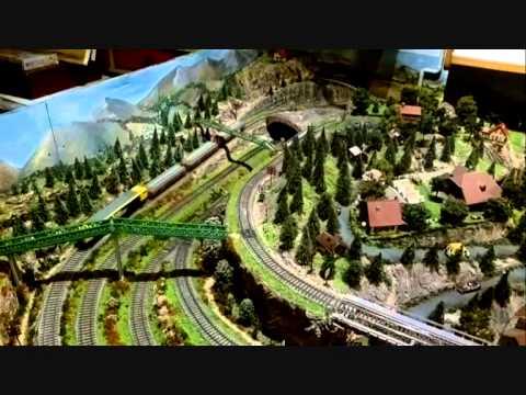 Maqueta de trenes - construcción y realización