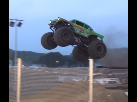 PT 2 Freestyle monster trucks bloomsburg 7-12-14