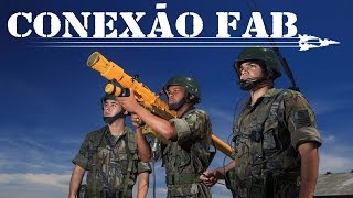 Esta edição do Conexão FAB traz uma reportagem sobre o treinamento dos militares da artilharia antiaérea da Força Aérea Brasileira (FAB). Você vai ver ainda o teste de um míssil A-Darter, realizado na África do Sul.