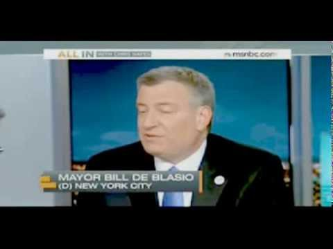 On MSNBC, Bill de Blasio Defends Support of Israel: 'Yes, It's Part Of My Job'
