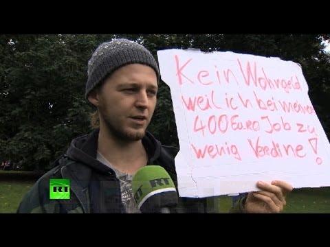 Жители Германии: на наши зарплаты нельзя прожить