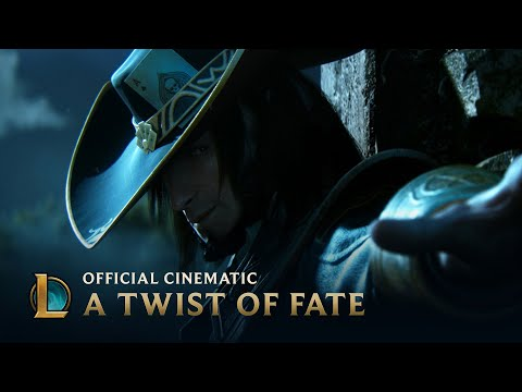 League of Legends Cinematic: A Twist of Fate, Get up close and personal with your favorite champions in the League of Legends Cinematic: A Twist of Fate. Watch the Behind the Scenes video : http://bit.ly...