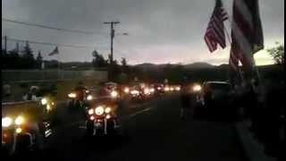 300 Bikers Stop Westboro Baptist Church At Prescott