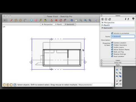 SketchUp Tutorial 01 - Preparing Sketchup for Layout