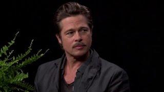 Zach Galifianakis Asks Brad Pitt About Jennifer Aniston's 'Friends' on 'Between Two Ferns'