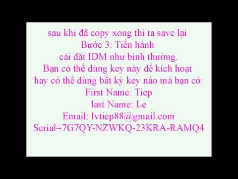 Huong dan cai dat idm-tai phim ve may tinh