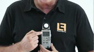 Como usar un fotómetro